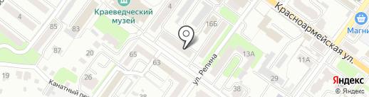Брянскземпроект на карте Брянска