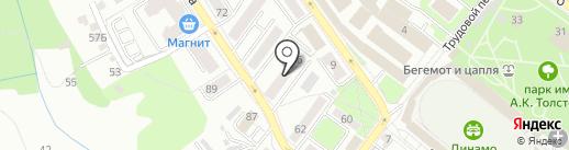 КИТ-Авто на карте Брянска