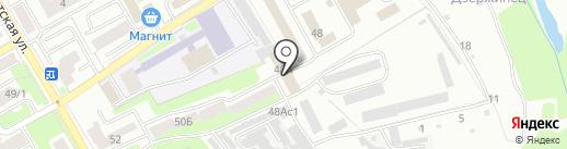 Воспитательная колония на карте Брянска