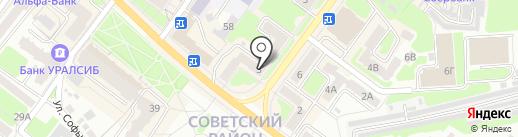 Integrama на карте Брянска