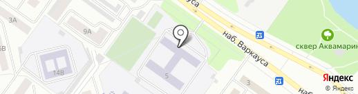 Средняя общеобразовательная школа №29 им. Т.Ф. Сепсяковой на карте Петрозаводска