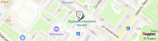 Магазин квартир на карте Брянска