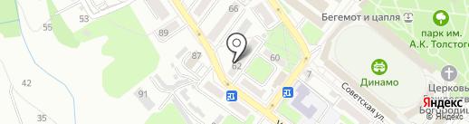УК-Сервис на карте Брянска