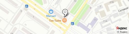 Восточный на карте Петрозаводска