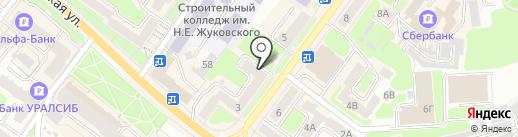 Текстильщик на карте Брянска