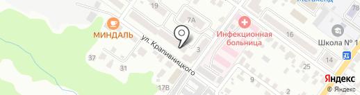 Центр лицензионно-разрешительной работы Управления МВД России по Брянской области на карте Брянска