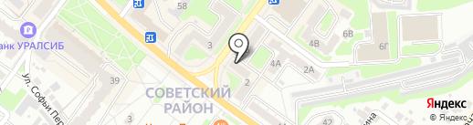 Адвокатский кабинет Коробкова В.С. на карте Брянска