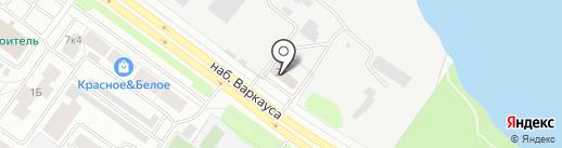 Водоканал на карте Петрозаводска