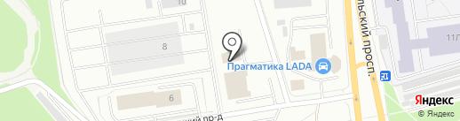 КУРГАН на карте Петрозаводска