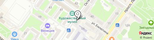 Клео на карте Брянска