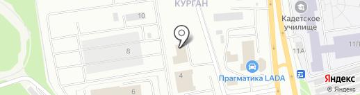 АвтоМастер на карте Петрозаводска