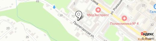 Отделение по делам несовершеннолетних Советского района на карте Брянска