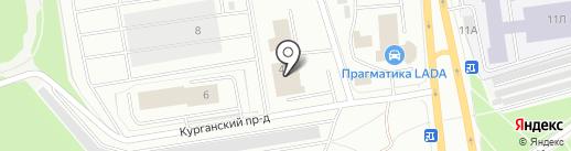 Еврокар на карте Петрозаводска