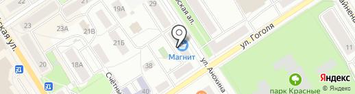 Теско на карте Петрозаводска