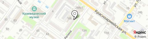 Магазин сантехники и электрики на карте Брянска
