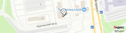 Eurocar на карте Петрозаводска