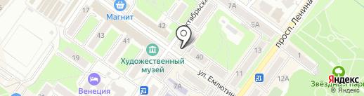 Оптимед на карте Брянска