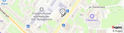 Адвокатский кабинет на карте Брянска