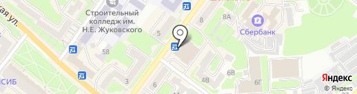 ЧИТАЙ-ГОРОД на карте Брянска