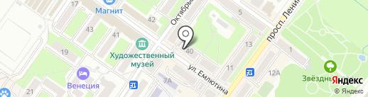 Семейный на карте Брянска