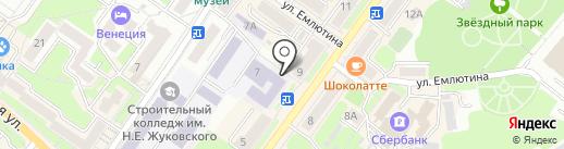 Green city на карте Брянска