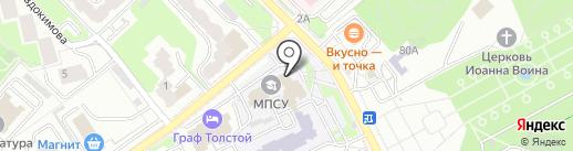 POWER BANK на карте Брянска