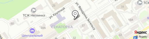 Груз-Город на карте Петрозаводска