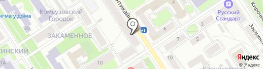 Tamm`antimebel на карте Петрозаводска