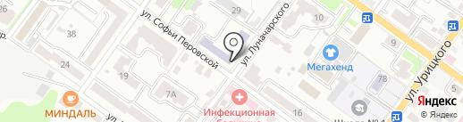 Средняя общеобразовательная школа №3 на карте Брянска