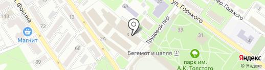 Управление вневедомственной охраны на карте Брянска