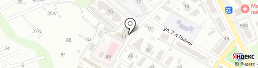 Учебно-методический и технический центр, АНО ДПО на карте Брянска