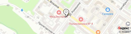 Бюро переводов на карте Брянска