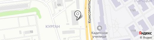 Гномики на карте Петрозаводска