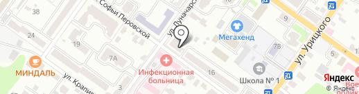 BryanskGiro на карте Брянска