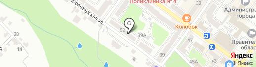 Хозяйственное управление на карте Брянска