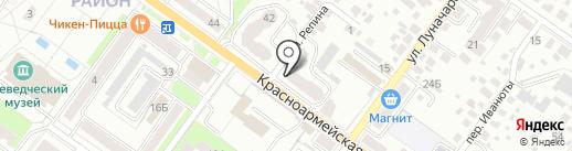 ЮН-Люкс на карте Брянска