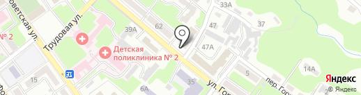 Авангардстрой на карте Брянска
