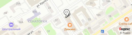 РСП Сервис на карте Петрозаводска