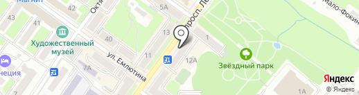 БЫТ-СЕРВИС на карте Брянска