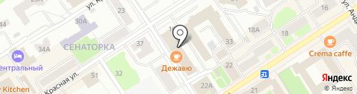 Русский Камень на карте Петрозаводска