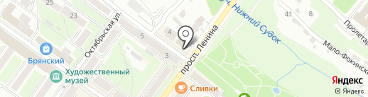 Россельхозбанк на карте Брянска