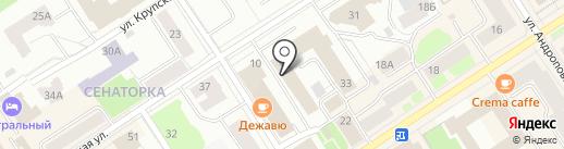 Единый расчетный центр Республики Карелия, ПАО на карте Петрозаводска