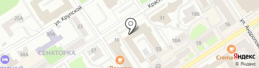 Российская правовая академия Министерства юстиции РФ на карте Петрозаводска