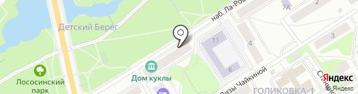МЕТРАЖ на карте Петрозаводска