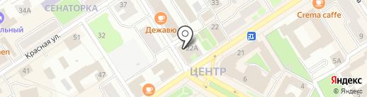АВТО ЭКСПРЕСС на карте Петрозаводска