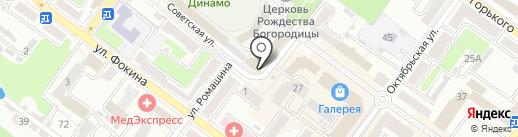 INFINITY на карте Брянска