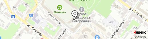 Чайхана на карте Брянска