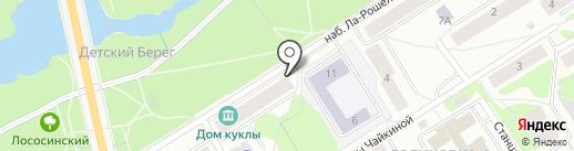 Аквариум на карте Петрозаводска