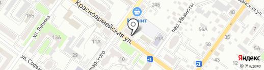 Hair Boutique Арины Богатыревой на карте Брянска