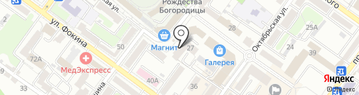 Брянское областное диабетическое общество на карте Брянска
